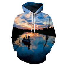 2019 Hot sale 3D Hoodies Men Sweatshirts Anime Tracksuit Fis