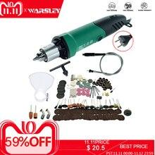 Dremel Mini taladro eléctrico grabador, 6 posiciones, velocidad Variable, herramientas rotativas Dremel con eje Flexible y