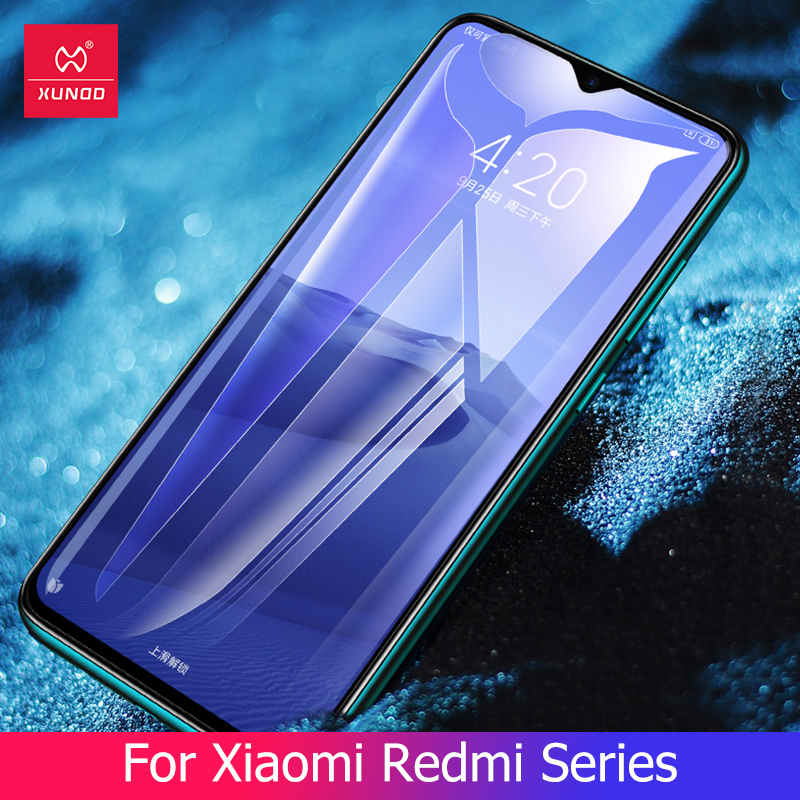 Tempered Glass For Xiaomi Redmi Note 8 Pro 7 Pro K20 Pro Mi9t Pro Cc9e Glass Full Coverage Phone Film Screen Protector 9H 2.5D