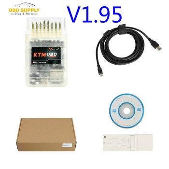 2019 New V1.95 KTMOBD ECU Programmer & Gearbox Power Upgrade Tool Plug and Play via OBD with Dialink J2534 Cable