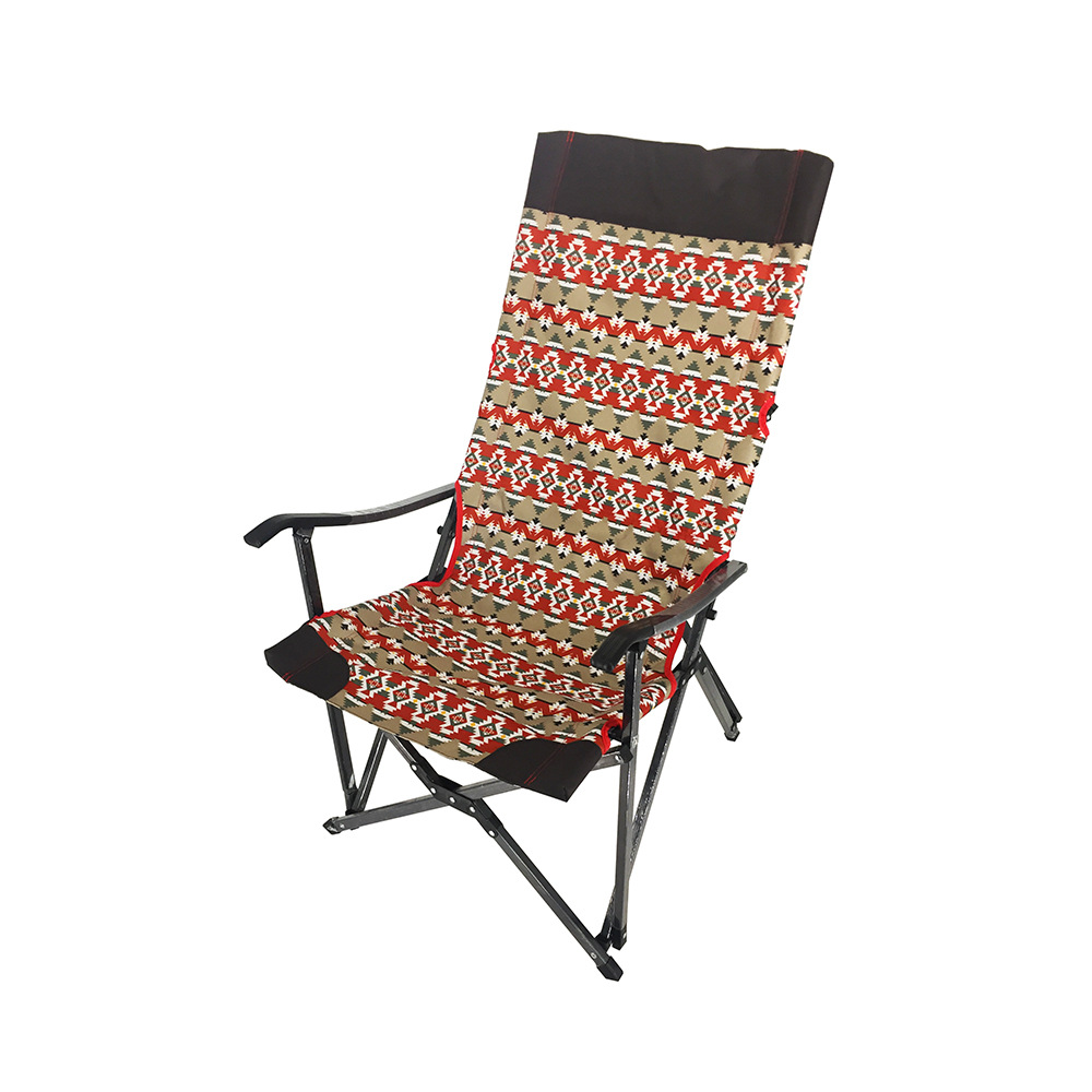 South Korea Hot Sales Outdoor Leisure Beach Chair Aluminium Alloy Folding Okawa Chair Car Camping Chair Customizable