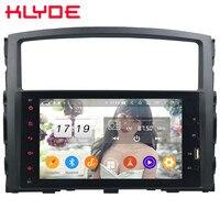 Klyde IPS 4G Android 9 Octa Core 4GB RAM 64GB ROM DSP BT Car DVD Multimedia Player Radio For Mitsubishi Pajero V97 V93 2006 2016