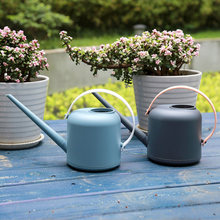 Vintage 1800ml Home Garden Watering Can Long Spout Watering Pot Small Watering Kettle With Handle for Planting Flower