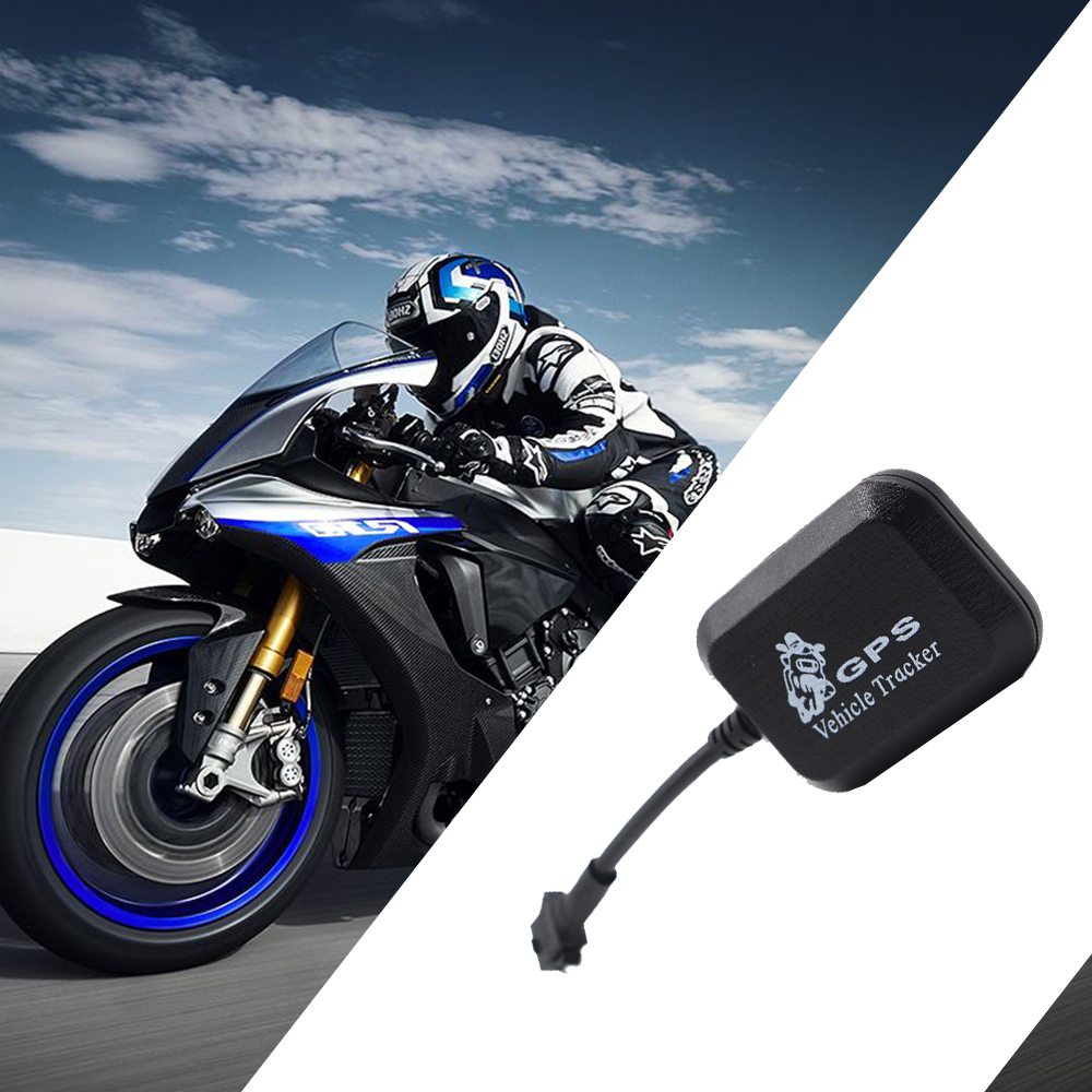 Motorcycle Car Bicycle GPS Tracker Portable Anti-Theft Vibration Overepeed Alarm Vehicle Locator GSM/GPRS Online Monitor Route