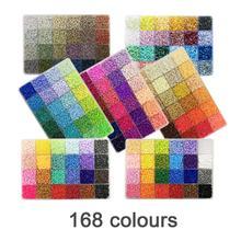Yantjouet, 2,6 мм, 168 цветов, 7 пластин с набором инструментов, 92400 шт., Хама, бусины, железные бусины, сделай сам, игрушка для детей, Высококачественная коробка
