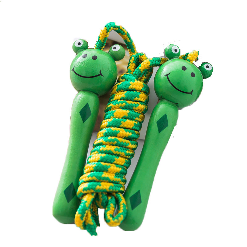 Kindergarten Frog Cartoon Jump Rope Cute Boys And Girls CHILDREN'S Toy Rabbit Young STUDENT'S Bees Animal Jump Rope