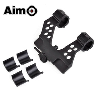 Aim O Tactical Scope Base AK 25.4mm 30mm Scope Side Mount Fit 20mm Picatinny Rail Airsoft Riflescope AO9022 Hunting Optics