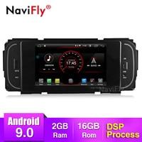 NaviFly 1din android 9 Car Multimedia DSP DVR player For Jeep/Chrysler/Dodge/Liberty/Wrangler/Sebring/Grand Cherokee Radio GPS