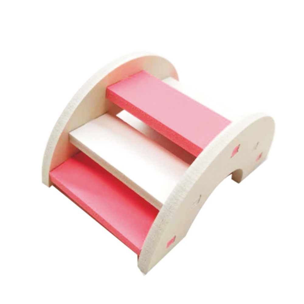 Hamster Toy Wooden Bridge Hamster Supplies Wooden Bridge Eco-friendly Toy For Pet Hamster Wooden Bridge Hamster