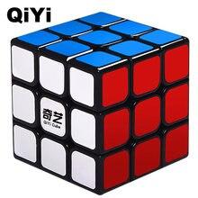 Qiyi cubo mágico profissional warrior w, cubo profissional 3x3x3 de 5.6cm e velocidade por rotação suave brinquedos para crianças presentes mf3