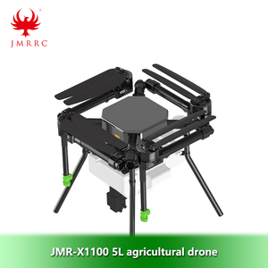 Image 2 - JMR X1100 5L четырехосный сельскохозяйственный распылитель drone frame kit Parts1300mm колесная база Складная летная платформа UAV