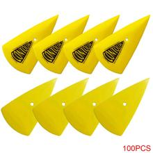 100P Plastic Scraper Car wrap Sticker Wrapping Tools Window Foils Squeegee House Cleaning Squeegee Vinyl Film Remove Accessories