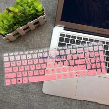 15 15.6 polegada de Silicone Notebook Laptop Keyboard Cover Protector Skin Para Lenovo IdeaPad 340C S540 15IWL S540-15IWL S 540 15 LIT