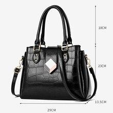 Autumn and Winter New Large Handbag European American Style Stone Pattern Killer Bag Designer Quality 2019 Woman