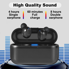 Wireless  Bluetooth tws 5.0 sports 3D stereo earbuds waterproof  with charging box, Gaming headset