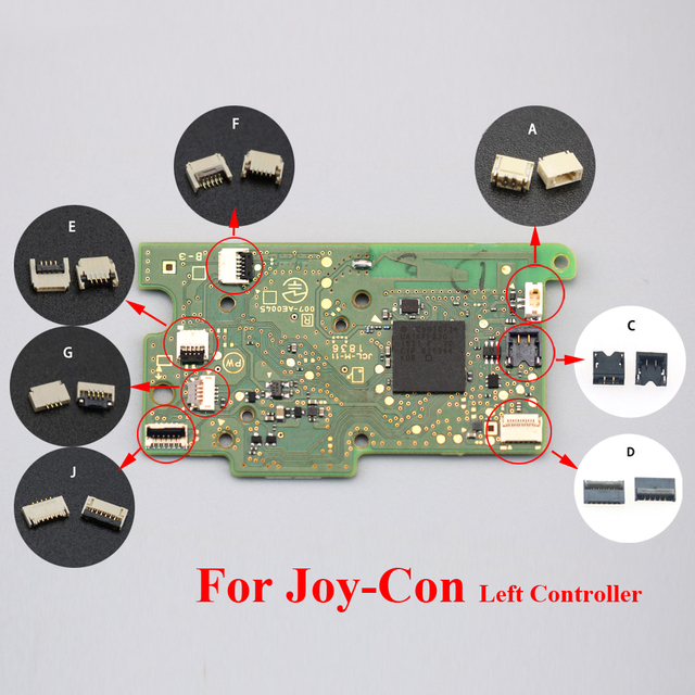 YuXi For Nintend NS Switch Console Motherboard to Touch LCD Display Screen Flex Cable Clip Ribbon Connector Socket 2