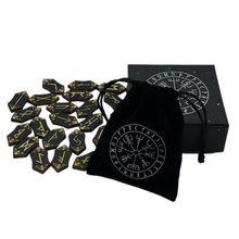 25 sztuk zestaw drewniane runy kamień Runas Piedra do wróżenia rzeźbione kamień energetyczny zestaw runy symbole znaki litery z torbą obrus tanie tanio VSRRWL CN (pochodzenie) P0RA2SS307065