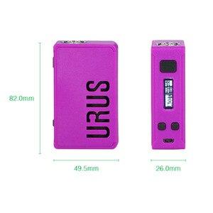 Image 4 - הוגו אדי 100W Urus 20700 Tc Mod דואר סיגריה תיבת Mod Urus באק boost בקרת Mod התאמה 18650 /20700/21700 סוללה עבור הוגו Va0Po