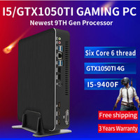 Gaming Computer Intel i5 9400F 6 Cores 6 Threads i7 8700 i3 9100F Nvidia GTX 1050 4GB Mini PC 2*DDR4 2*HDMI 2.0 1*DP 1*DVI WiFi