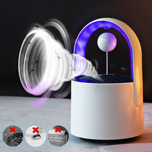 LED Electric Mosquito Killer Lamp Light UV Repellent Photocatalyst Fly Bug Insect Trap 365NM new usb photocatalyst mosquito killer lamp mosquito repellent bug insect trap light uv light killing trap lamp fly repeller