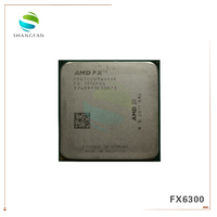 AMD FX Series FX6300 3.5GHz SIX Core CPU Processor FX 6300 FD6300WMW6KHK 95W Socket AM3+