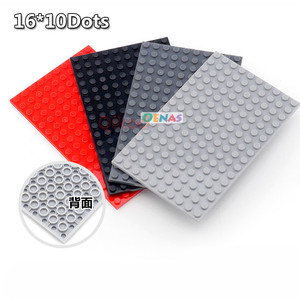 16*10 Dots Base Plate for Small Bricks Baseplate Assemble Board Compatible City Friends Figures Building Blocks Toy For Children