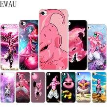 EWAU Super Majin Buu Soft Silicone Mattle phone cover Case for