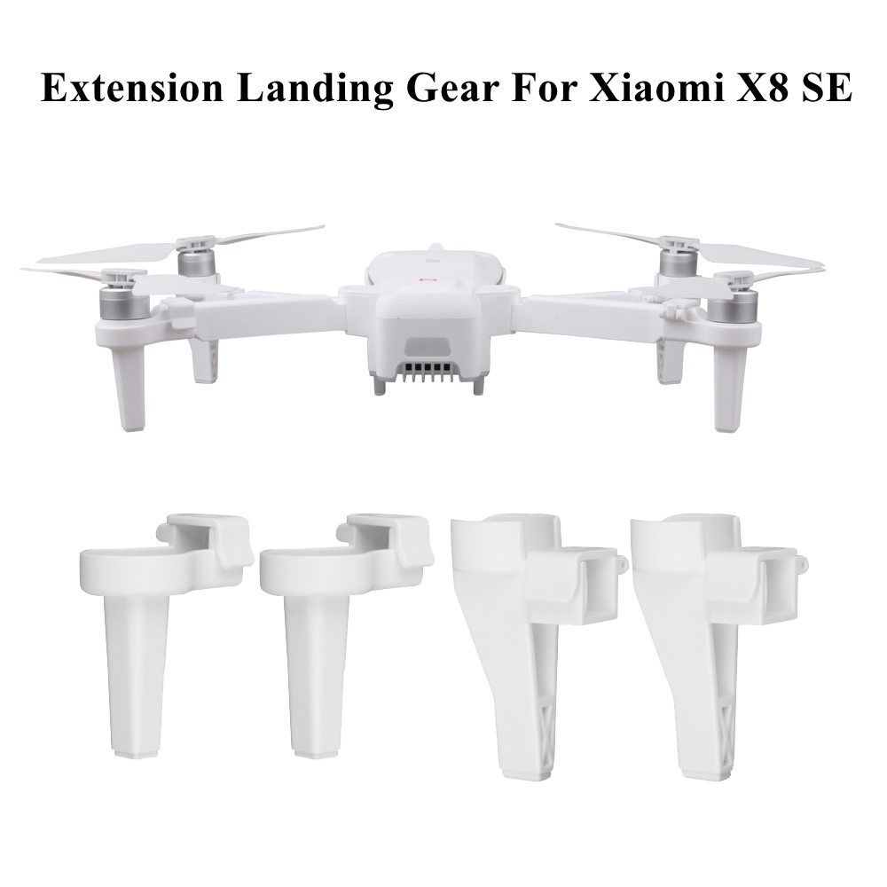 1Set Landing Gear Foldable Heighten Landing Legs Support Feet Extension Leg Protector For Xiaomi FIMI X8 SE RC Drone Accessories