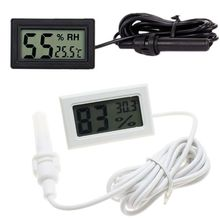 FY-12 Mini Digital Thermometer Hygrometer LCD Display Temperature Humidity Measure Tester Environment Monitor for Indoor