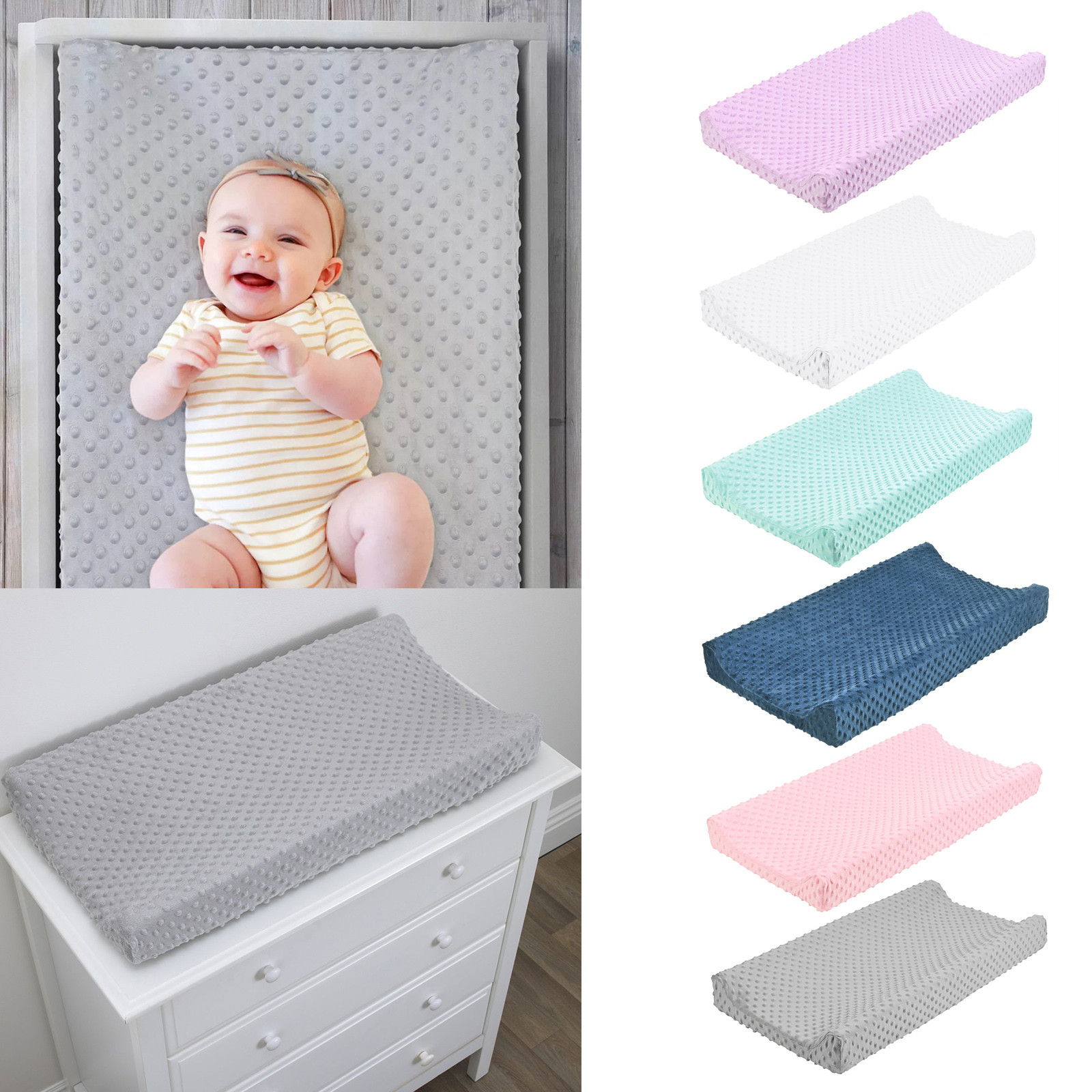 Baby Nursery Diaper baby diapers Changing Pad Cover Changing Mat Cover Changing Table Cover Baby Changing Mat Cambiador Baby