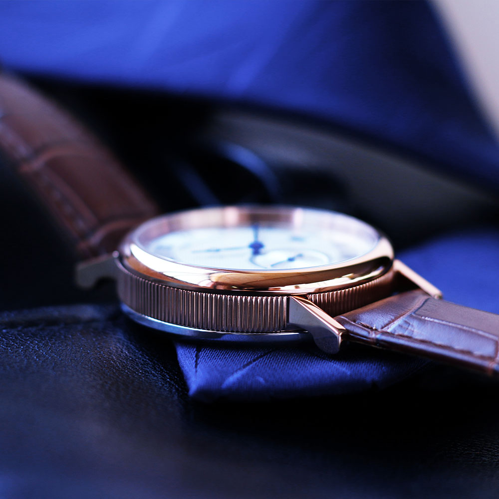 ด้านบนยี่ห้อ BRIGADA Classic Design วันที่หนังผู้ชายนาฬิกาควอตซ์ธุรกิจแฟชั่นกันน้ำนาฬิกาผู้ชาย relogio masculino-ใน นาฬิกาควอตซ์ จาก นาฬิกาข้อมือ บน   3