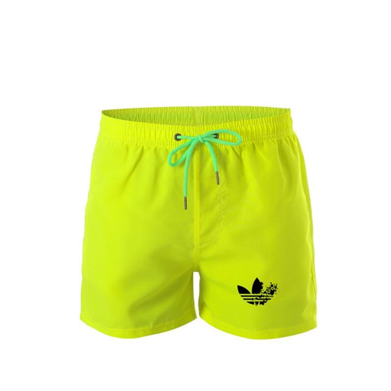 New Brand Men's Swim Shorts Swimwear Trunks Men's Beach Shorts Mens Swimming Short Swimsuits Mens Running Sports Surffing Shorts