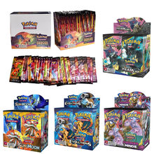 324 pièces/boîte Pokemon cartes soleil & lune perdu tonnerre anglais carte à collectionner jeu évolutions Booster boîte à collectionner enfants jouets cadeau