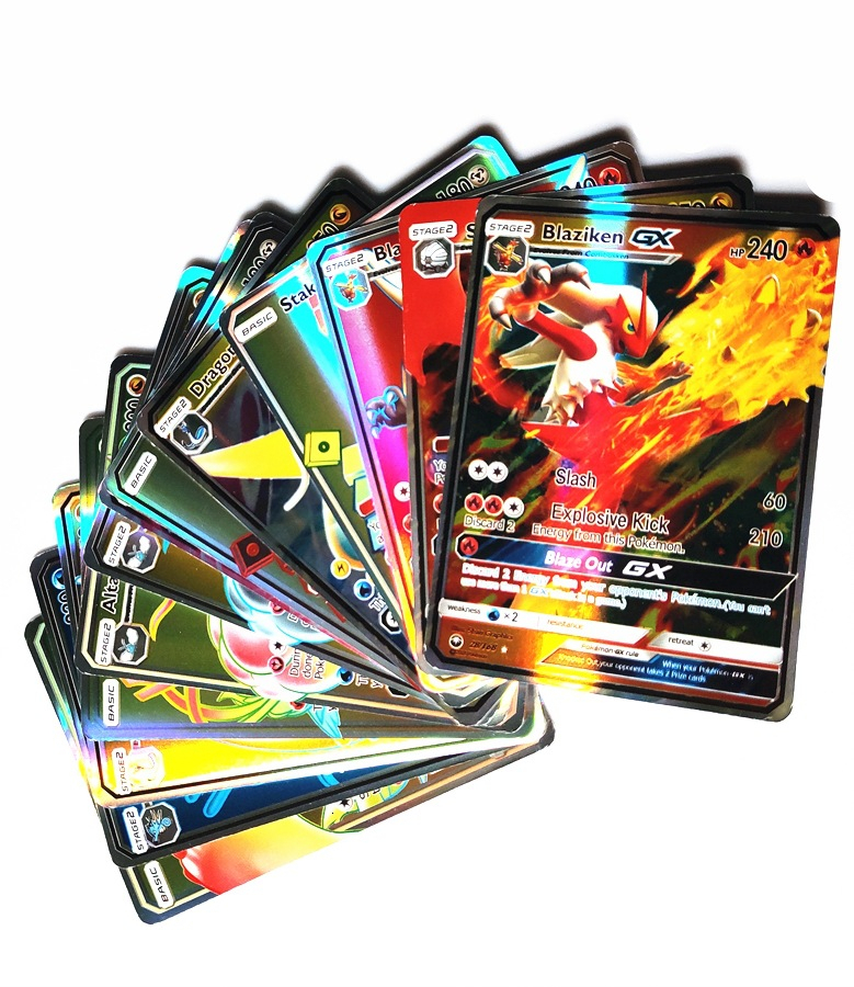 200 Pieces GX MEGA Shiny 100 Pieces Trading TAKARA Cards TOMY Game Battle Card Cards Game Children Toy