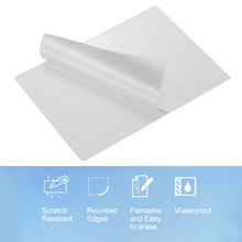Bolsas de película de laminación A4, hoja de protección 3.1mil 100 unid/set para papel fotográfico, suministros de laminación para hogar y oficina