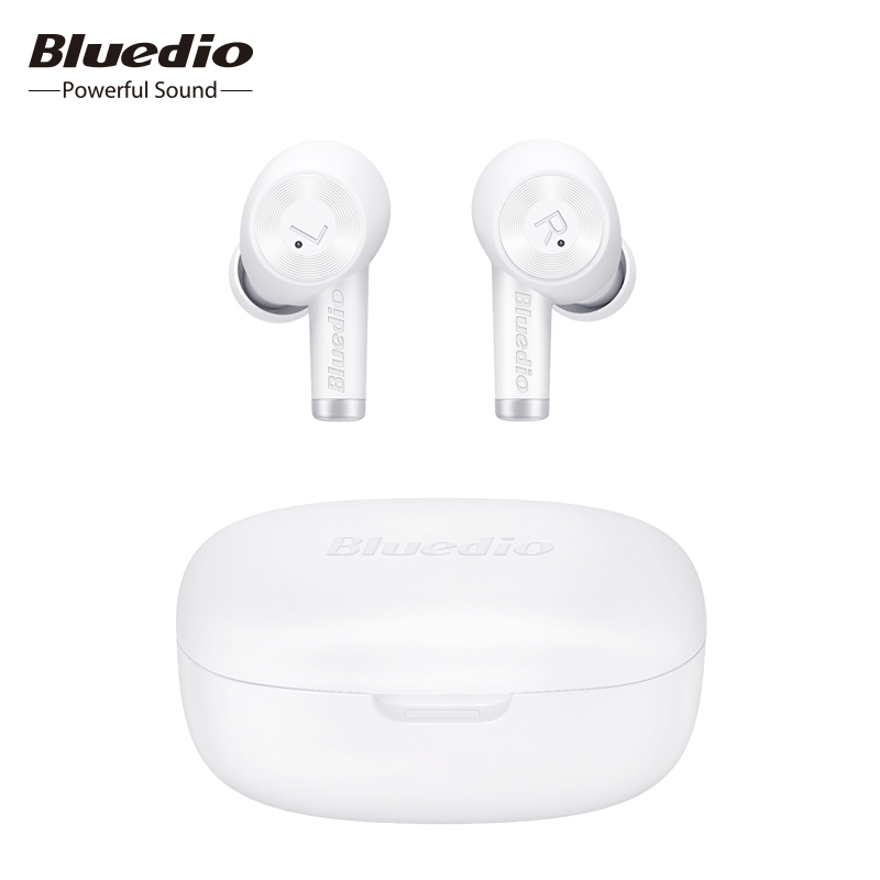 Bluedio Ei Wireless Earphone TWS Earphone Bluetooth Headset Waterproof Earbuds Wireless Headset Wireless Charging Sport