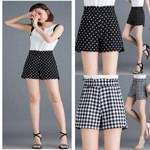 2020 New High Waist Thin Thin Wild Loose Shorts Casual Summer Ladies Shorts S~5XL high waist thin flower print womens shorts