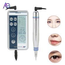Portable Makeup beauty apparatus for Hair Stroke Eyebrow Tattoo Professional Rotary Makeup Pen