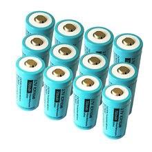 Icr16340 37 v литий ионная аккумуляторная батарея 700mah icr16340