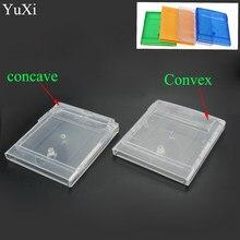 YuXi-carcasa de reemplazo para cartucho de juego GBA SP, carcasa para tarjeta GB GBC, azul, verde, transparente