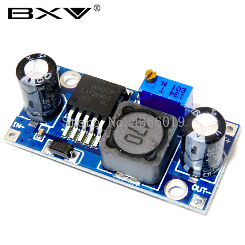 1PCS DIP DC-DC Buck Converter Step Down Module LM2596 Power Supply Output 1.25V-30V