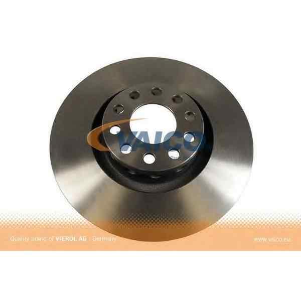 Фото Тормозной диск Fr VAG A6 A8 94 10 VEMO VAICO V10 80011