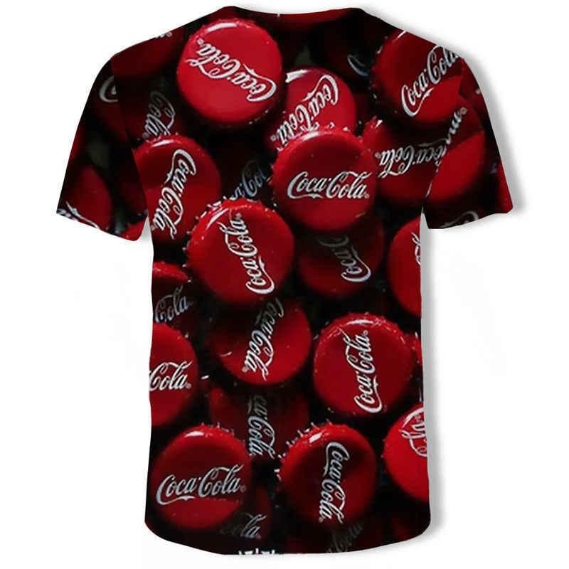 Haai T-shirt Mannen Mode Zomer T-shirt Grappige T-shirt Korte Mouw Casual Shirt T-shirt Plus Size Mannen 3d Gedrukt bloem T-S