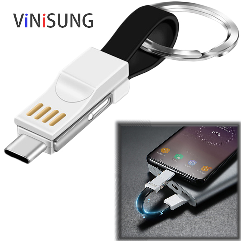 Mini Keychain Lanyard Charger <font><b>Cable</b></font> For iPhone X XR XS Max 6 6S 7 8 Plus 5 iPad <font><b>Short</b></font> Fast Charging Key chain Data <font><b>USB</b></font> Wire Cord image