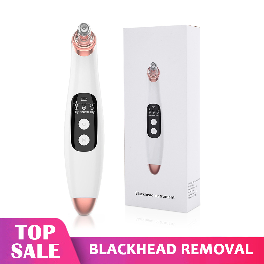 Blackhead Removal Device  Vacuum Facial Pore Black Points Suction Cleaner Acne Pimple Remove  Aspirateur Point Noir Remover