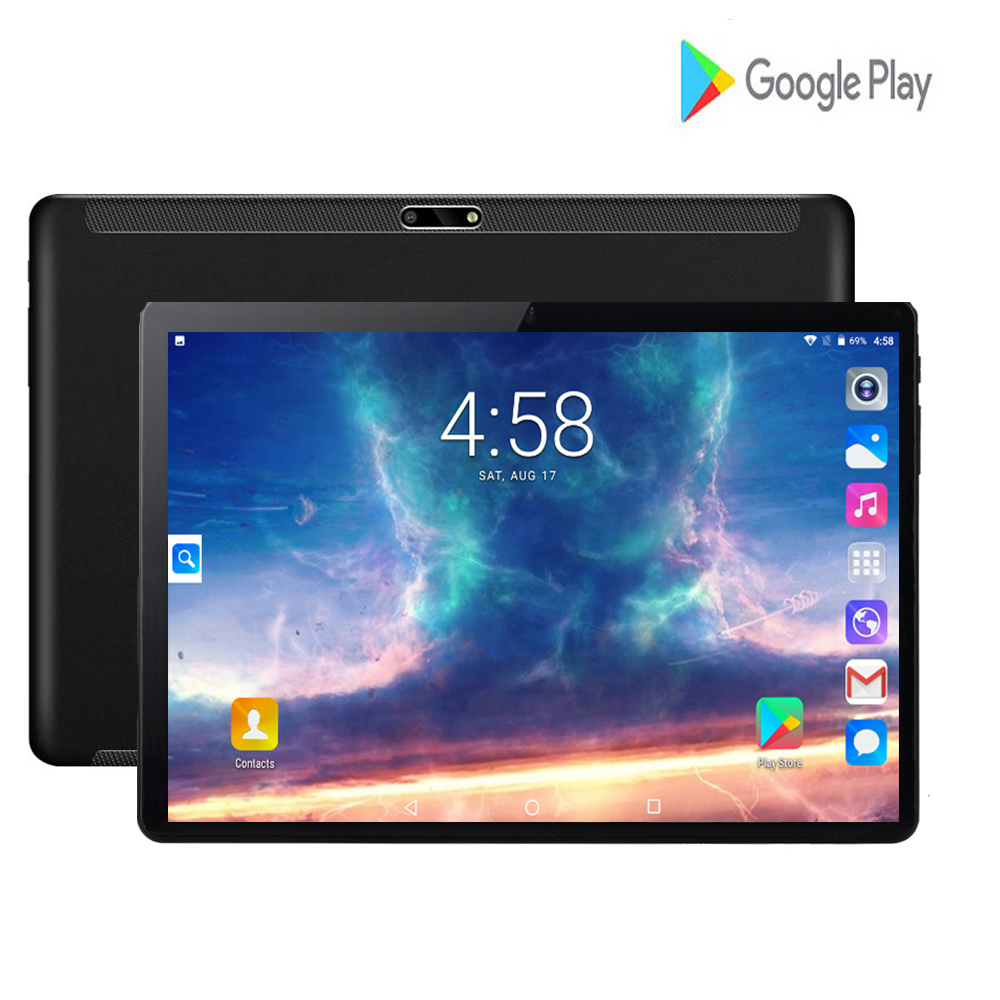 2020 Google Android Tablets 10 Inch 1280*800 IPS Glass Large Screen 8.0MP Rear Camera Wifi 3G Tablets Support Russian Keyboard