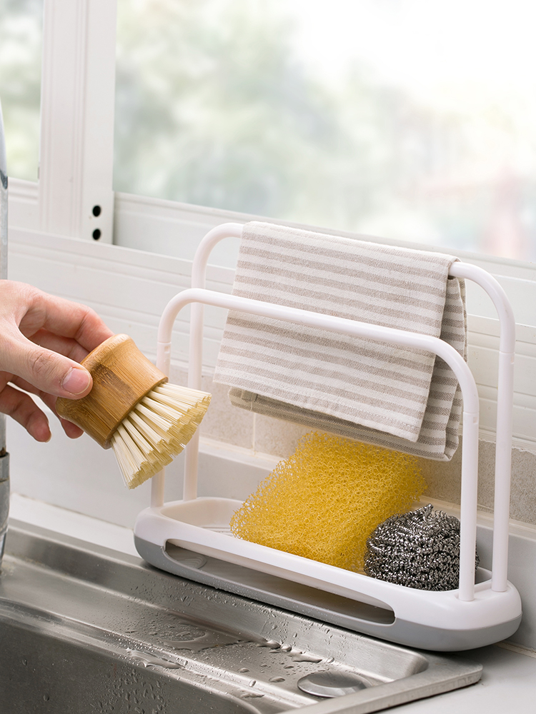 Household rag racks, kitchen supplies, countertop cleaning, drain racks, sink racks, household Daquan sponge storage racks|Racks & Holders|   - AliExpress