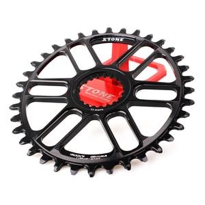 Image 3 - Plato ovalado para bicicleta de piedra, soporte directo para M9100, M8100, M7100, refuerzo de Dientes anchos estrecho, 30T 40T, 12 velocidades