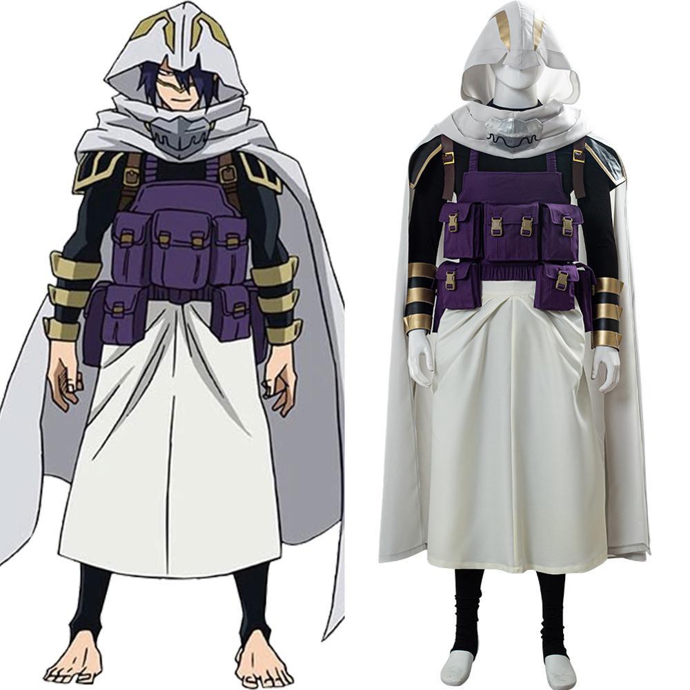 My Hero Academia Season 4 Tamaki Amajiki Cosplay Costume Boku no Hero Akademia Battle Suit Cloak Custom Made