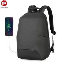 Tigernu 2020 New Design RFID Man Backpack Fit 15.6 Inch Laptop Backpack Schoolbag Splashproof Male Bag Anti Thief Casual Mochila